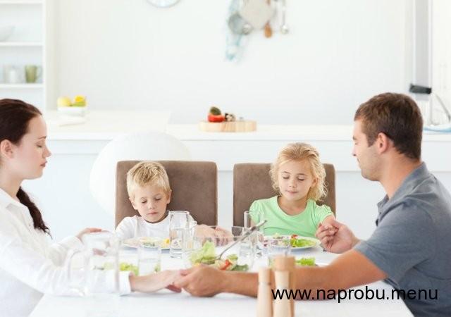 Молитва перед едой и после еды в православии